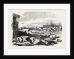 Demolition of the Paris Exhibition Building the Park 1868 by Anonymous