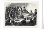 The Expedition to Abyssinia: Sir Robert Napier Entertained by the Prince of Tigre 1868 by Anonymous