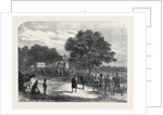Bringing Ivory to the Waggons in South Africa 1868 by Anonymous