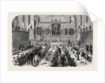 Dinner Given by the Inns of Court Volunteers to the Universities Corps 1868 by Anonymous