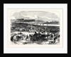 Visit of the Prince and Princess of Wales to Ireland: General View of Punchestown Races 1868 by Anonymous
