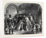 The Grand Master Investing the Prince of Wales with the Order of St. Patrick in St. Patrick's Cathedral Dublin 1868 by Anonymous