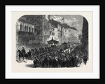 Funeral Procession of the Late Hon. Thomas D'Arcy M'Gee at Montreal Canada 1868 by Anonymous