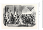 The Queen's Drawingroom: The Ambassadors' Entrance Buckingham Palace 1868 by Anonymous