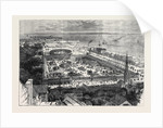 Bird's Eye View of the International Maritime Exhibition at Havre 1868 by Anonymous