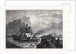 Ship and Crew Saved by G.H. Andrews in the Exhibition of the Society of Painters in Water Colours 1868 by Anonymous