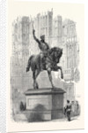 Colossal Statue of Richard Coeur De Lion, in the Old Palace Yard Westminster by Anonymous