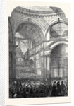 The Performance of the Messiah in St. Paul's Cathedral 1861 by Anonymous