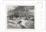 The Recent Gale Scene at Whitby: Upsetting of the Life Boat and Loss of Twelve Lives February 1861 by Anonymous