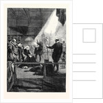 Execution of Mary Queen of Scots from a Drawing by J. Gilbert by Anonymous