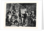 The Studio of Rembrandt, in the Exhibition of the British Institution by Anonymous