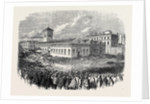 The Strike at Blackburn Large Meeting of Operatives in the Marketplace 1861 by Anonymous