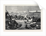 The Inundations in Holland the Bursting of the Dyke at Bommellerwaard 1861 by Anonymous