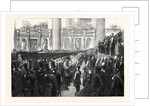 The Liverpool Press Guard (80th Lancashire Rifle Volunteers) Taking the Oaths in St. George's Hall by Anonymous