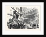 The Opening of the New Italian Parliament by Victor Emmanuel on the 18th Ult. 1861 by Anonymous