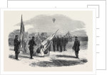 The Volunteer Movement: Presentation of Colours to the 39th Middlesex (Finsbury) Volunteers at the Crystal Palace on Whit Monday 1861 by Anonymous