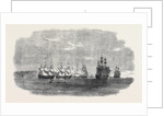 The British Fleet Lying in the Roadstead of Beyrout by Anonymous