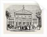Frontage of the Grand Cafe Parisien on the Boulevard Saint-Martin, Paris, France by Anonymous