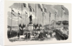 Inauguration of the Statue of Admiral Le Ray, Pornic, August 12, 1855, Engraving by Anonymous