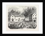 Fete of the Nativity of Our Lady: Pilgrimage to Our Lady of Font-Romeu (Pyrenees-Orientales), France, 1855 by Anonymous