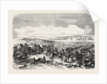Battle of Koughil. The Crimean War, 1855 by Anonymous