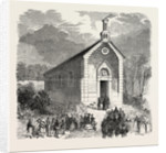 Inauguration of a Protestant Church in Conde-Sur-Noireau, France by Anonymous