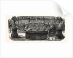 Expo Industry, 1855. Service Table Ordered from Mr. Christofle, by the Emperor. Paris, France, Exposition Universelle by Anonymous