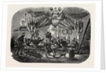 Celebrating the Feast of St. Barbara, Vincennes, 1855 by Anonymous