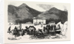 Camp Sefer Pasha, in Batum, 1855 by Anonymous