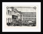 Funeral of Admiral Bruet, Coming from Des Invalides in Paris, France, 1855 by Anonymous
