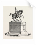 Equestrian Statue of Francis I to the Court of the Louvre, 1855 by Anonymous