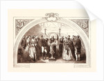 Christening of the Prince of Wales at St. George's Chapel, Windsor, January 25, 1842 by Anonymous