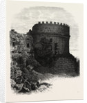 Tomb of Cecilia Metella, on the Appian Way, Rome and Its Environs, Italy by Anonymous
