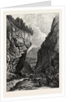 Entrance to the Gasteren Thal, Bernese Oberland, Berner Oberland, Switzerland by Anonymous