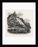 Drachenfels. The Rhine, Germany by Anonymous