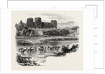 Rhuddlan Castle by Anonymous