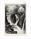 Pandy Mill and Fall, Near Bettws-Y-Coed, North Wales by Anonymous
