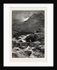 The Stream from Llyn Idwal, North Wales by Anonymous