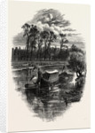A Gala Day at Hampton Court, Scenery of the Thames by Anonymous