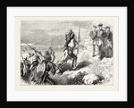 Arrival of Indian Auxiliaries at the French Camp by Anonymous