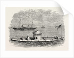A Monitor, and Blockade-Runner, American Civil War by Anonymous