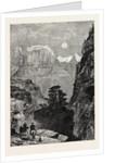View in Utah: Temple of the Virgin Mu-Koon-Tu-Weap Valley by Anonymous