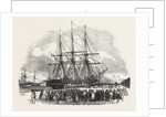 The St. Lawrence, in Southampton Dock, Unloading Goods for the Great Exhibition by Anonymous