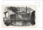 Fire and Explosion at Marsland's Park Mills, Stockport by Anonymous