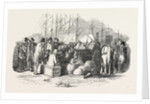 Arrival of Emigrants at Cork, a Scene on the Quay, Ireland by Anonymous