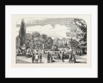 M. Soyer's Symposium of All Nations, Gore House, Kensington, the Gardens, London by Anonymous