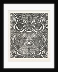 Messrs. Houldsworth And Co., Blue and Gold Damask by Anonymous