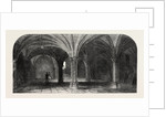 The Crypt of the City of London Guildhall by Anonymous