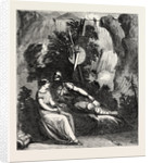 Scene from the New Play of Ingomar, at Drury Lane Theatre, London by Anonymous