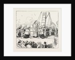 On the Way to Paray-Le-Monial, France: Mass on Board the Steamer by Anonymous